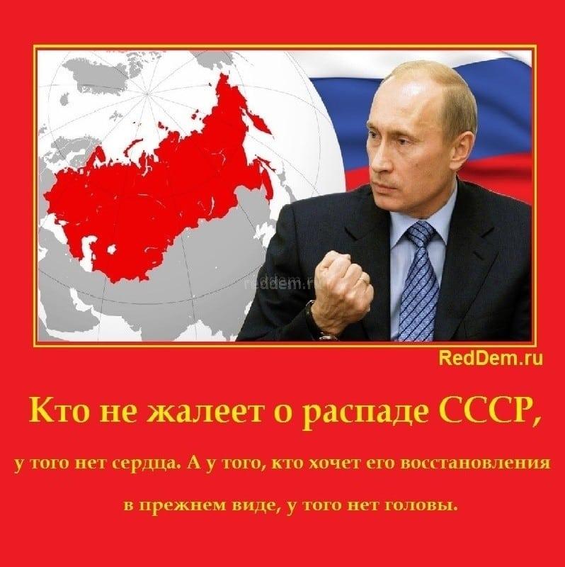 Кто не жалеет о распаде СССР
