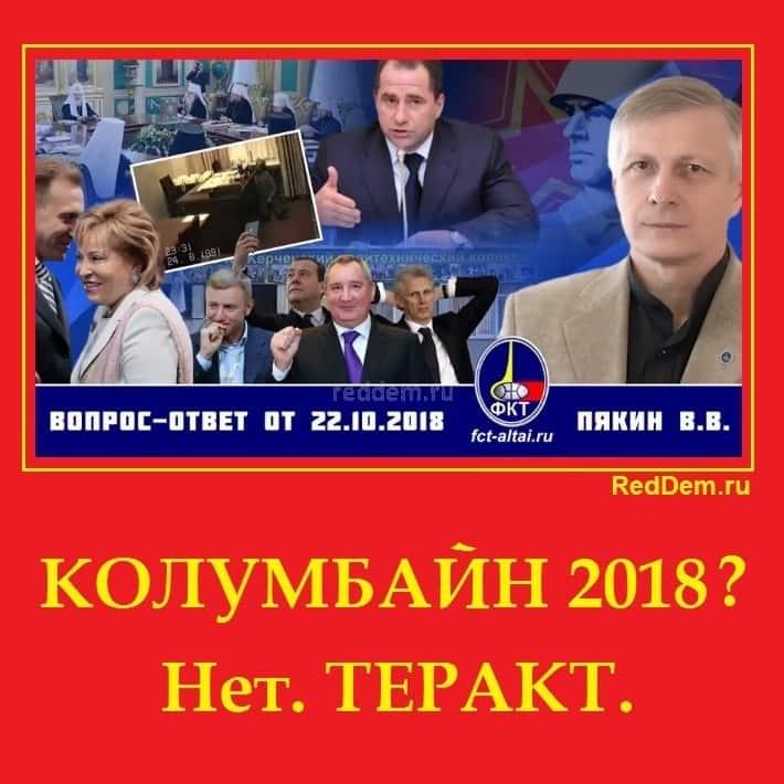 КОЛУМБАЙН 2018