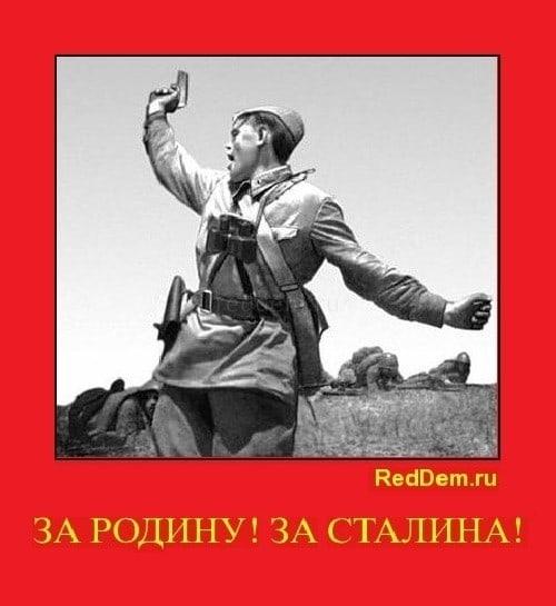 За родину за сталина